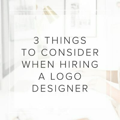 3 Things to Consider When Hiring a Logo Designer