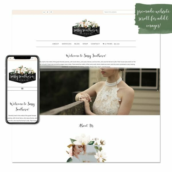 sassy southern premade website