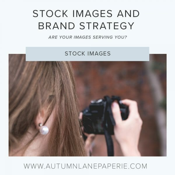 stock images and brand strategy
