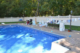 poolside event in NJ by Francis Grace Events