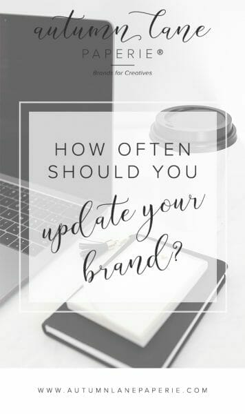 updating your brand