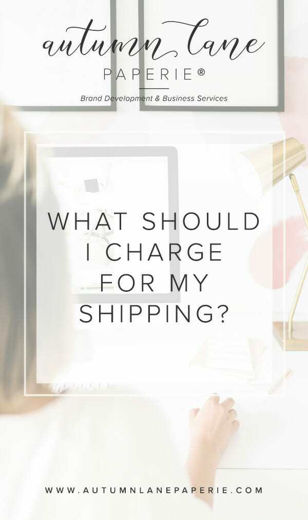 What Should I Charge for My Shipping?