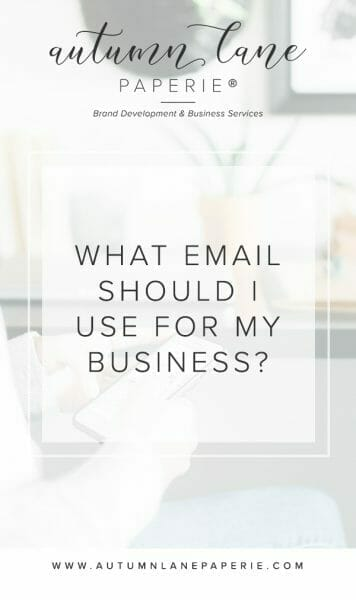 What Email Should I Use For My Business?