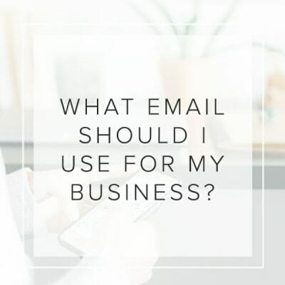 What Email Should I Use?