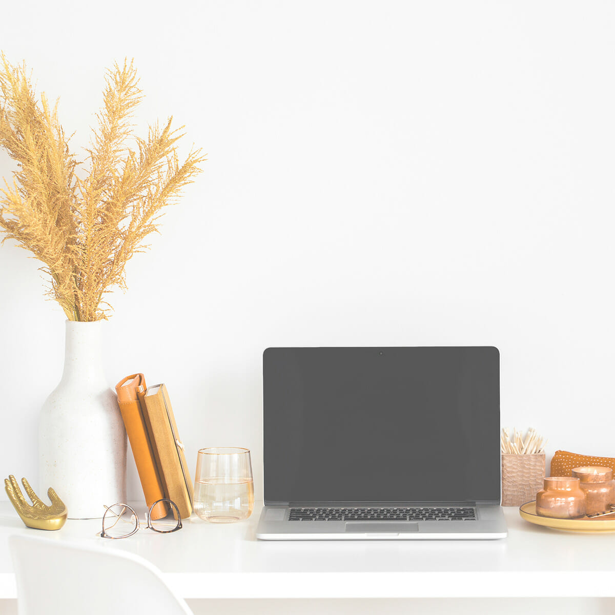 A computer on a desk - starting a small business
