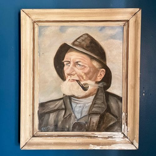 vintage painting of seaman, curated by Emma & Jean Studios in Smithfield, VA